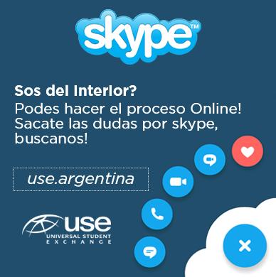Contactanos por Skype use.argentina